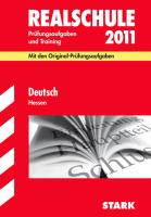 Realschule 2011 Deutsch. Hessen