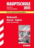 Hauptschule 2007. Mathematik, Deutsch, Englisch. Baden-Württemberg