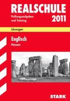 Realschule 2011. Englisch. Hessen. Lösungsheft