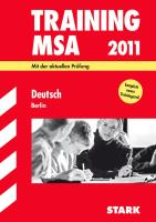 Training Mittlerer Schulabschluss 2011. Deutsch Berlin