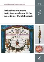 Perkussionsinstrumente in der Kunstmusik vom 16. bis zur Mitte des 19. Jahrhunderts
