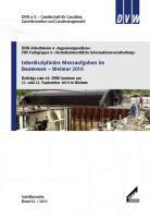 Interdisziplinäre Messaufgaben im Bauwesen - Weimar 2010
