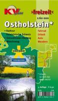 Ostholstein Kreiskarte: 1:60.000 Freizeitkarte inkl. Radroutennetz, 29 aktuelle Themenrouten, Ostseeküstenradweg, Mönschweg, Holsteinische Schweiz: ... Wandern (KVplan Schleswig-Holstein-Region)