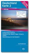 Aral Straßenkarte Deutschland 2 / 1 : 400 000