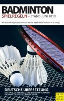 Badminton Spielregeln 2010/2011