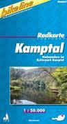Bikeline Radkarte Kamptal. 1 : 50 000.