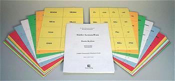Kieler Leseaufbau / Einzeltitel / Kieler Leseaufbau. Karteikarten in Druckschrift (ungeschnitten), 6