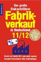 Fabrikverkauf in Deutschland - 11/12