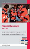Reanimation exakt 2010 - 2015
