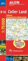 Topographische Sonderkarten Niedersachsen. Sonderblattschnitte auf der Grundlage der amtlichen topographischen Karten, meistens grösseres ... 1 : 75000 mit Begleitheft / Celler Land