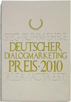 Deutscher Dialogmarketing Preis 2010