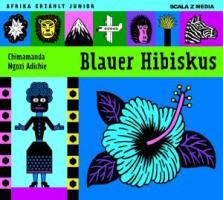 Blauer Hibiskus