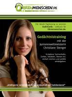 Gedächtnistraining mit der Juniorenweltmeisterin Christiane Stenger
