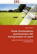 Etude d'antécédents psychosociaux des transgressions en sport - CORRION, KARINE