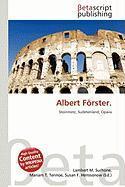 Albert Forster.