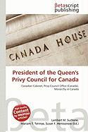 President of the Queen's Privy Council for Canada