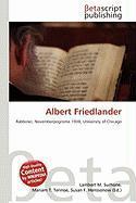 Albert Friedlander