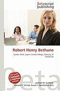 Robert Henry Bethune