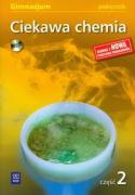 Ciekawa chemia Podrecznik czesc 2 z plyta CD - Gulinska, Hanna; Smolinska, Janina