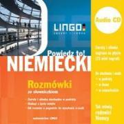 Niemiecki Rozmowki ze slowniczkiem + CD Powiedz to! - Dominik, Piotr