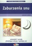 Zaburzenia snu - Leibold, Gerhard