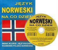 Jezyk norweski na co dzien z plyta CD Mini kurs jezykowy Rozmowki polsko-norweskie