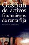 Gestión de activos financieros de renta fija