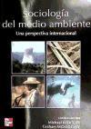 SOCIOLOGIA DEL MEDIO AMBIENTE