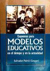 Esquemas para modelos educativos en el tiempo y en la actividad