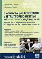 Il concorso per istruttore e istruttore direttivo nell'area tecnica degli enti locali