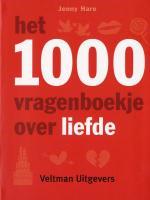 Het 1000 vragenboekje over liefde / druk 1 - Hare, Jenny
