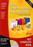 Adobe Creative Suite 3 Design Premium + CD-ROM / druk 1 - Olij, E.A.