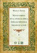 Nuevo Corpus de La Lirica Popular Hispanica - Frenk, Margit