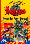 Tom Turbo / Ab 7 Jahren: Tom Turbo, Bd.34, Rettet den Pony-Express!