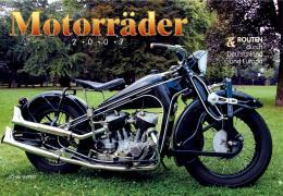 Motorräder und Routen durch Deutschland und Europa 2007. Kalender