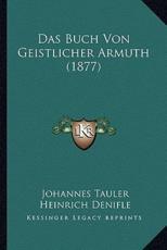 Das Buch Von Geistlicher Armuth (1877) - Johannes Tauler