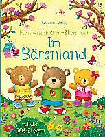 Mein Anziehbären-Stickerbuch: Im Bärenland