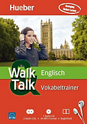 Walk & Talk Englisch Vokabeltrainer, Audio-CD
