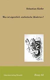 Was ist eigentlich 'ästhetische Moderne'?
