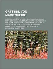 Ortsteil Von Marienheide - B Cher Gruppe (Editor)