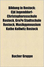 Bildung In Rostock - B Cher Gruppe (Editor)