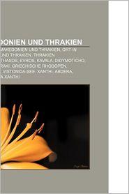 Ostmakedonien Und Thrakien - B Cher Gruppe (Editor)
