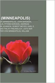 Person (Minneapolis) - B Cher Gruppe (Editor)