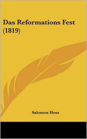 Das Reformations Fest (1819) - Salomon Hess