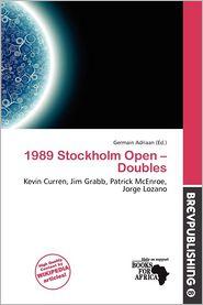 1989 Stockholm Open - Doubles - Germain Adriaan (Editor)