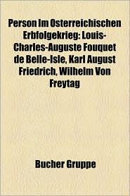 Person Im Sterreichischen Erbfolgekrieg - B Cher Gruppe (Editor)
