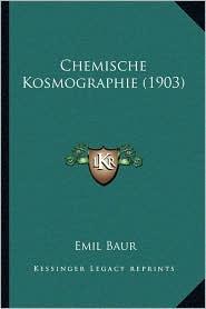 Chemische Kosmographie (1903)