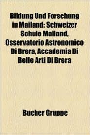 Bildung Und Forschung In Mailand - B Cher Gruppe (Editor)