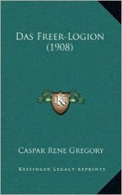 Das Freer-Logion (1908) - Caspar Rene Gregory