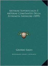 Arteriae Superficiales E Arteriae Comitantes Della Estremita Inferiore (1899) - Giunio Salvi
